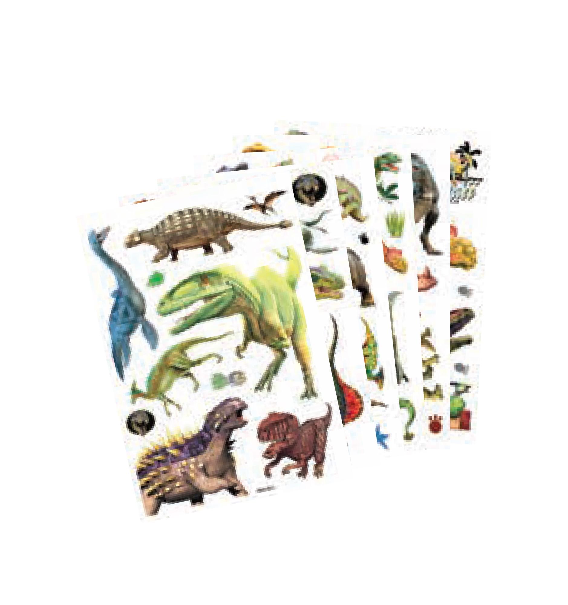 Adesivos 3D Dinossauros  Decorativos Grande-2571