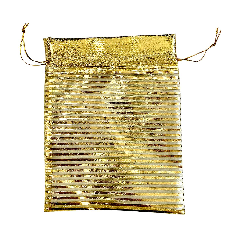 Saco de organza Luxo Dourado-SO luxo