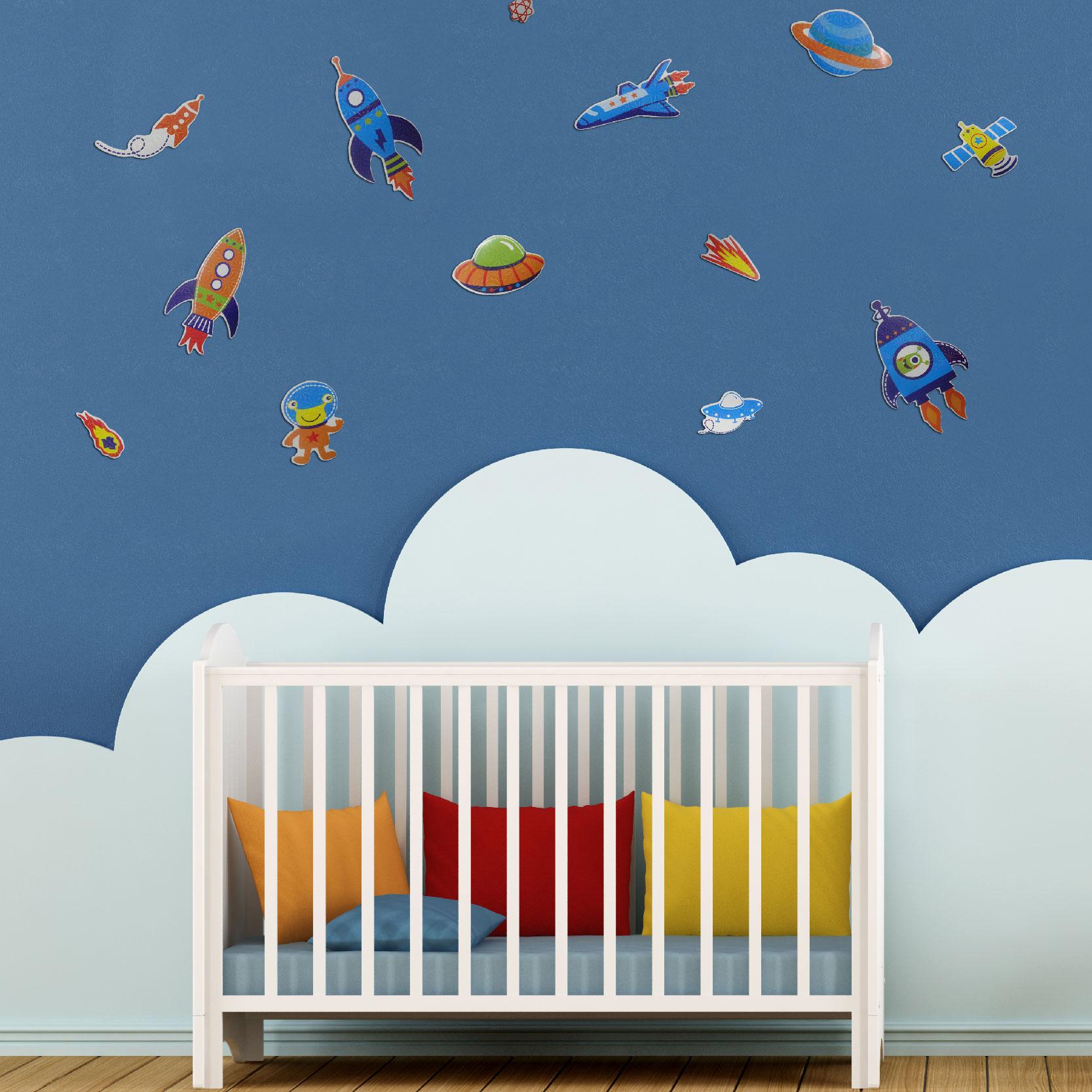Adesivos 3D infantis decorativos Grande-2572