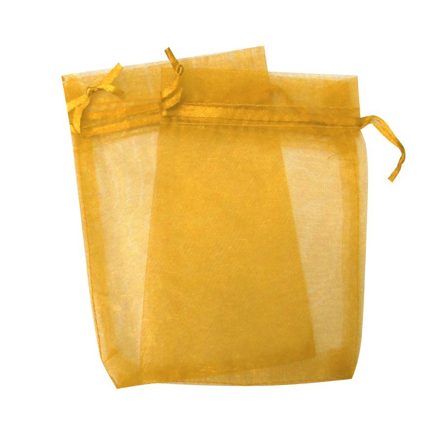 Sacos de Organza Dourado-SODourado
