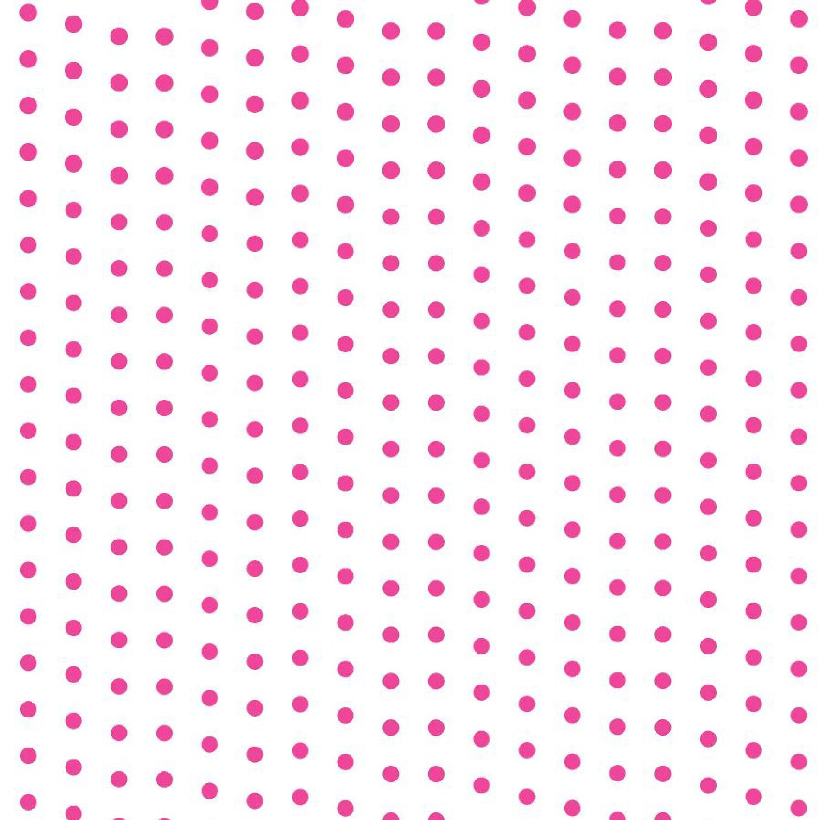 Poá Rosa Transparente-960