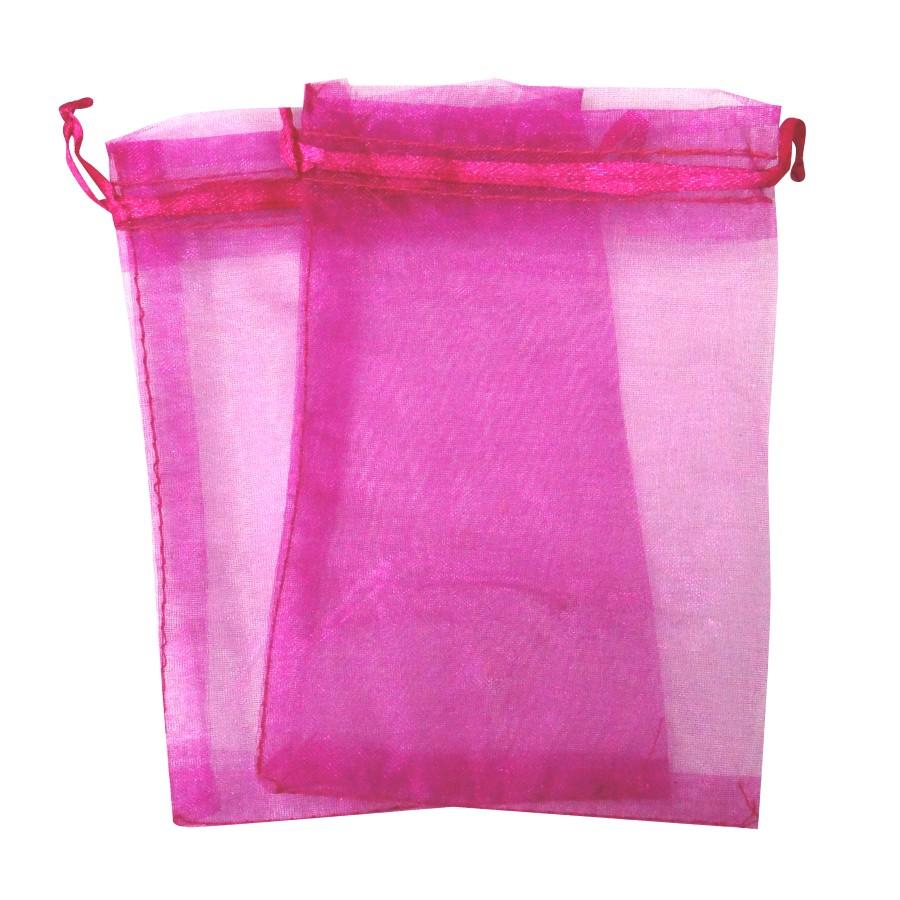 Sacos de Organza Pink -SOPink
